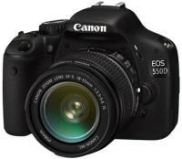 Canon EOS 550D -järjestelmäkamera